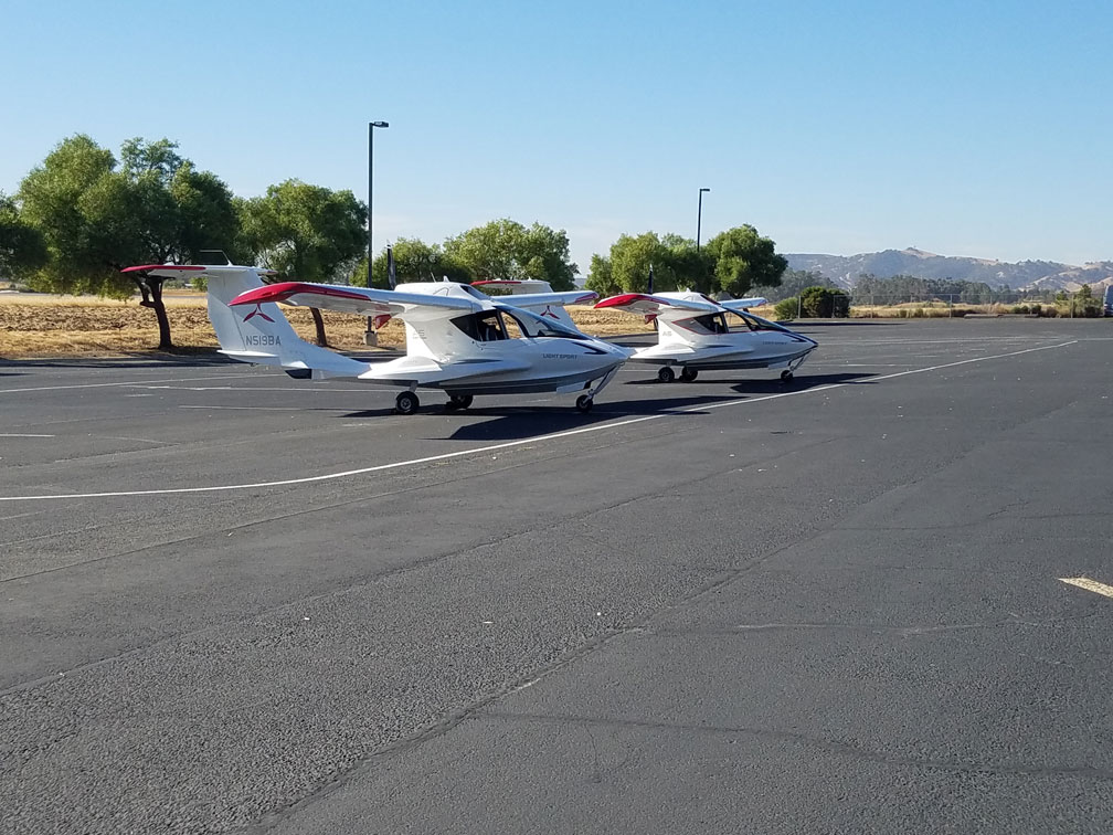 2 ICON Aircraft planes